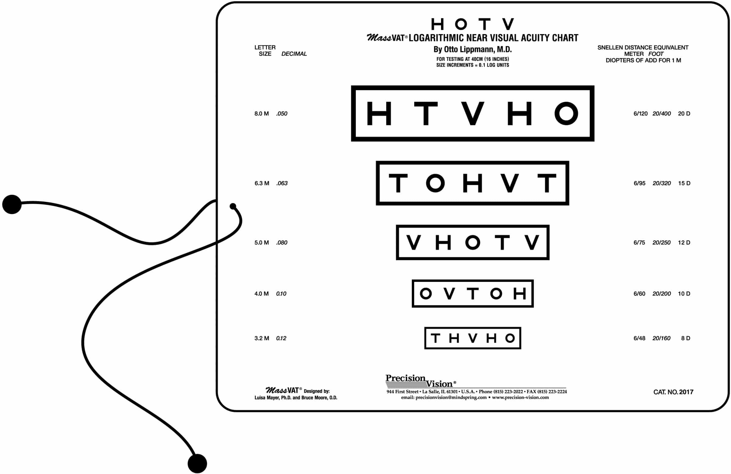 Near vision reading charts precision vision 2875 add to cart nvjuhfo Image collections