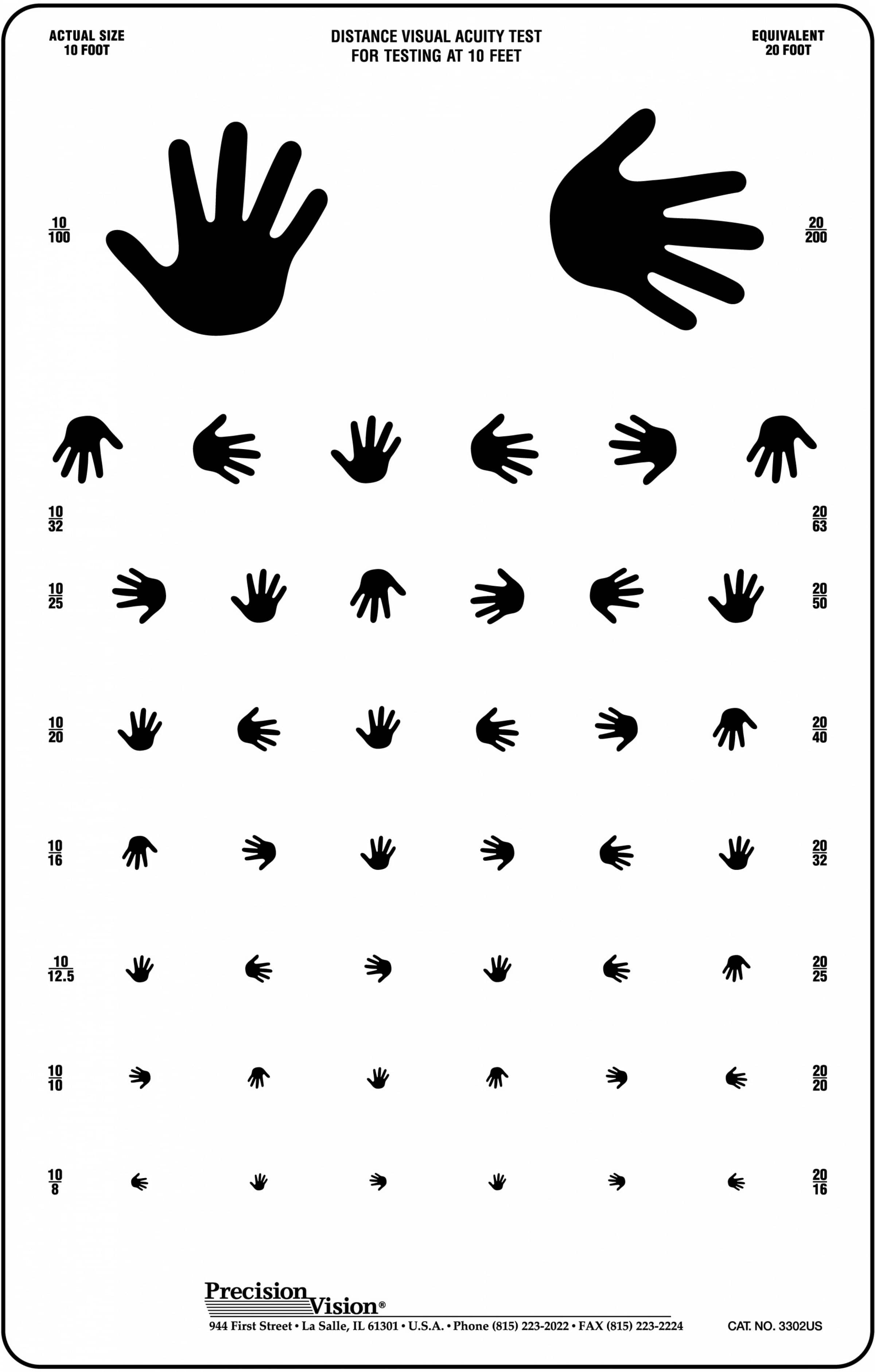 This is a photo of Witty Pediatric Eye Chart Printable