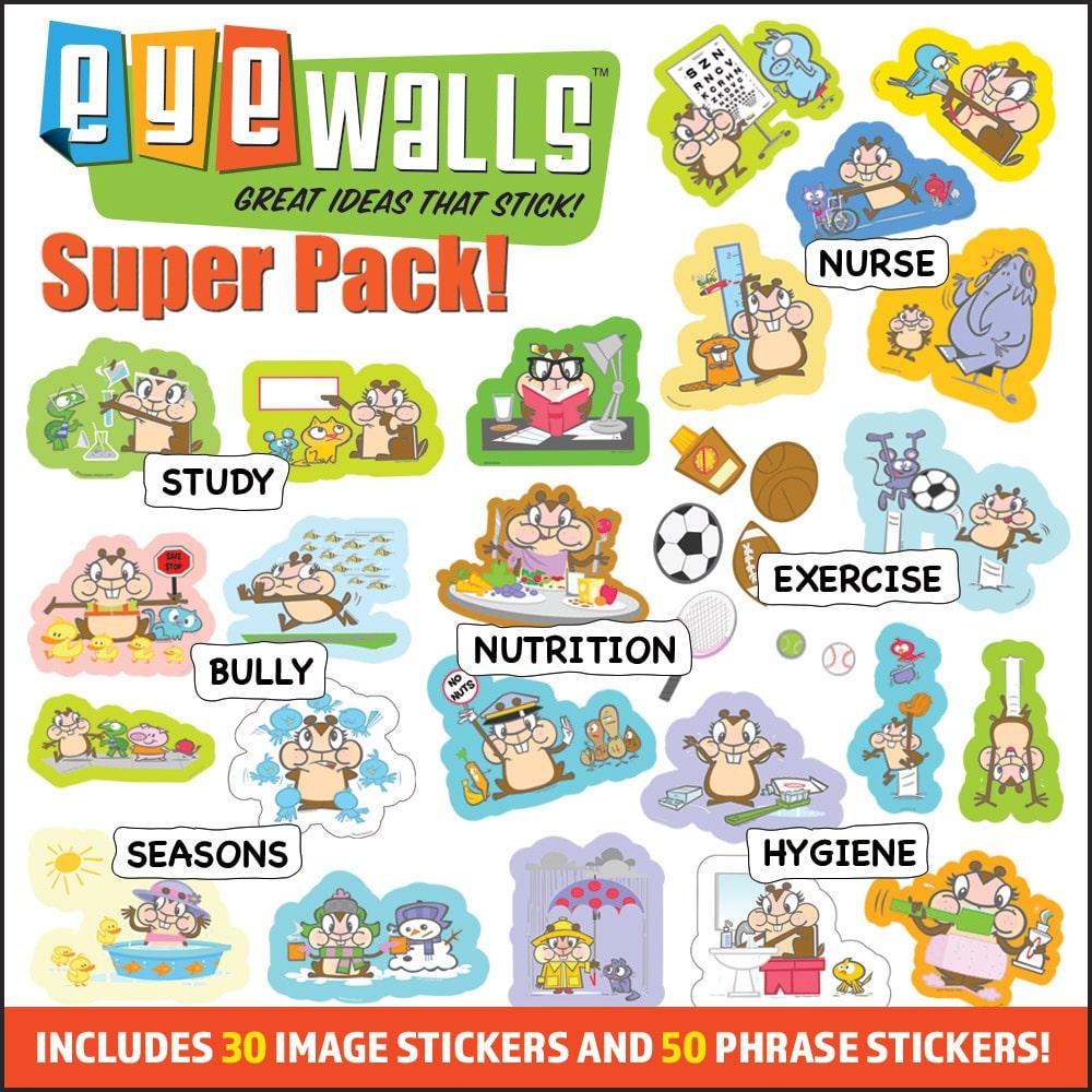 EyeWalls Super Pack